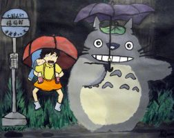 Totoro Gusta by soupcan88