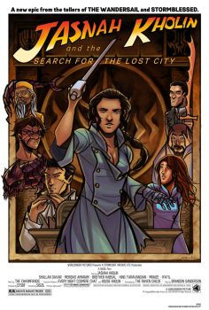 Jasnah Kholin and the Search for the Lost City by ex-m