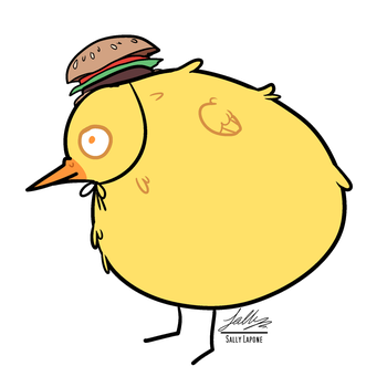 The Burger Berd by SallyLapone