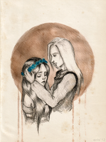 Rhaegar and Lyanna by eirlis