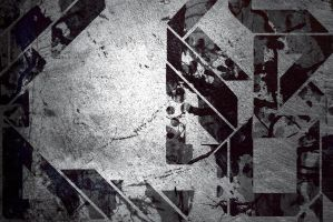 Grungy Abstract Wallpaper by Schizoepileptic