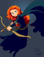 20 minute Merida from Brave by genekelly