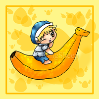 Banana Momiji by ShavingSheep