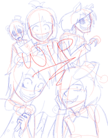 Five nights at Freddys WIP by Gameaddict1234