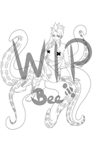Commission: Urs WIP by BeesHoneypot