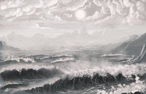 Angry sea speed paint by Syntetyc