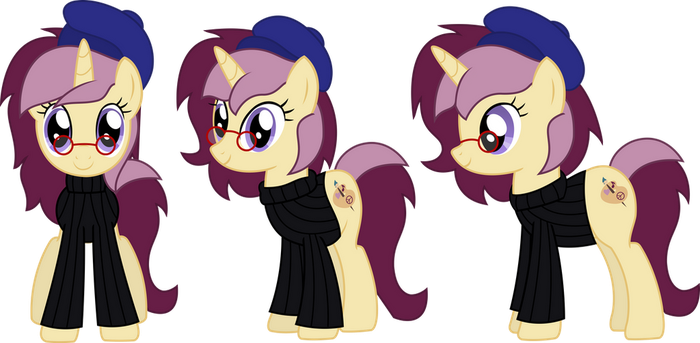 Gift - Show-style Lannie Lona by SketchMCreations