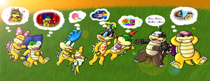 Collab: Koopa Dreamings by xxGaby-23xx