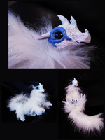 Winter Dragon Poseable-For Sale by superayaa