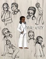 The Guy: Character Model Sheet by TheArtRogue