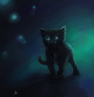 Kitten by twistedCaliber
