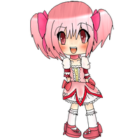 madoka chibi is going to be a group pic by Seizure-Salads