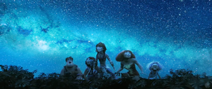 Playing with efects - The Croods by Girllovescomic
