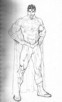superman my reboot, step by step by PauloSiqueira