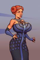 Padme by boobsgames