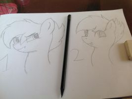 First sketch by ThundySilly