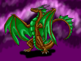 Dec. Request-Earth Wyvern by Scatha-the-Worm