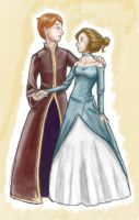 Yule Ball is colored by aleyed