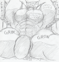 Giant Muscle Drink part 5 by me-go