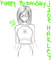 HAPPY BIRTHDAY JADE :B by Evalayza