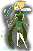 Gem Fusion - Actinolite by HezuNeutral