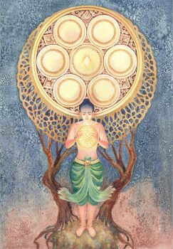 Eight of Pentacles by rinaswan