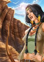 Dani Moonstar by Autumn-Sacura