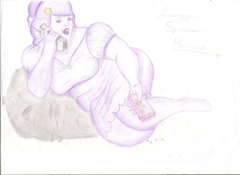 Realistic Lumpy Space Princess by Angellimes