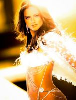 Adriana Lima Glare by d3tail3d