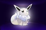 Shiny Eevee by super-tuler