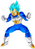 Vegeta Super Saiyan Blue 2 by alexiscabo1