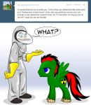 Radioactive Horse Question by GreyOfPTA