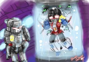 Mega Punishing StarScream LOL by BloodyChaser