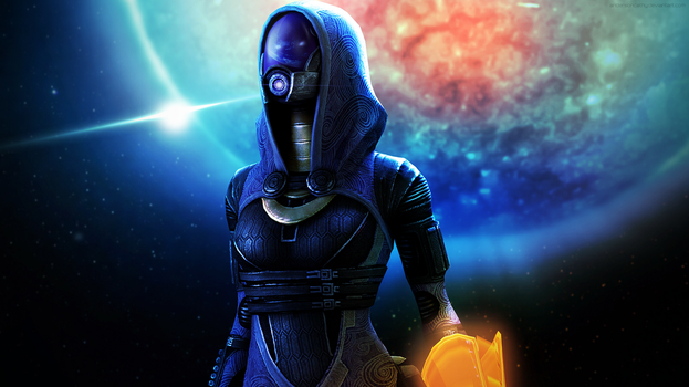 Tali'Zorah Vas Normandy by andersoncathy