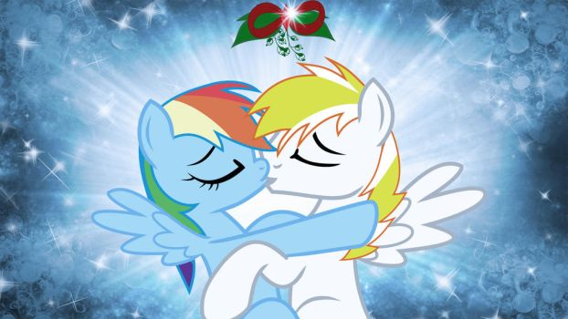 Wallpaper RDSS christmas kiss by Barrfind