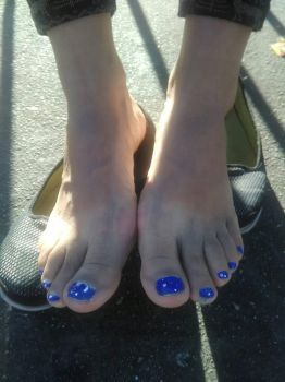 Foot Fetish POV - The Feet Of A Mature Lady!! by Namco-NintendoFan-88