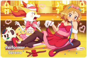 Pokemon Performer Serena