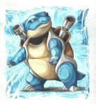 blastoise by DestroyedSteak