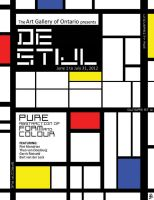 De Stijl Poster by wowhappyfish