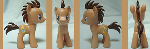 Custom Pony: Doctor Whooves (#2) by frostfire14