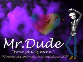 Mr. Dude wallpaper by exploding-cheese