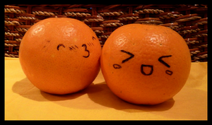 Orange love by Miwa-Arashi