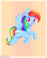 2013 - Rainbow Dash by pekou
