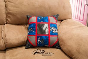 Star Wars Patchwork Pillow by zeldalilly