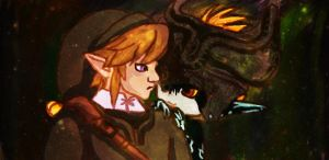 Link and Midna by keinzplz