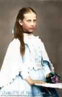 Charlotte of Prussia by Livadialilacs
