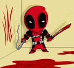 Chibi DeadPool Colored by Stablehalf
