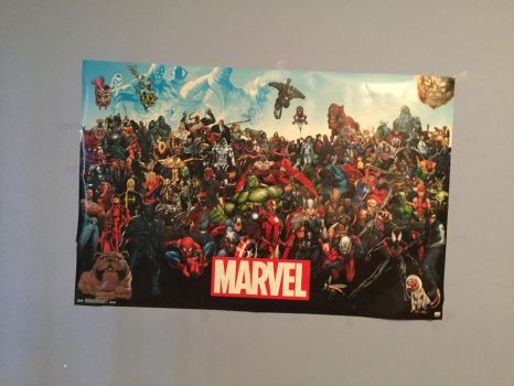 My New Marvel poster by Animehreats