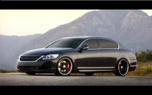 Lexus Gs 350 by Peak-Design