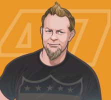 James Hetfield3 by geum-ja1971